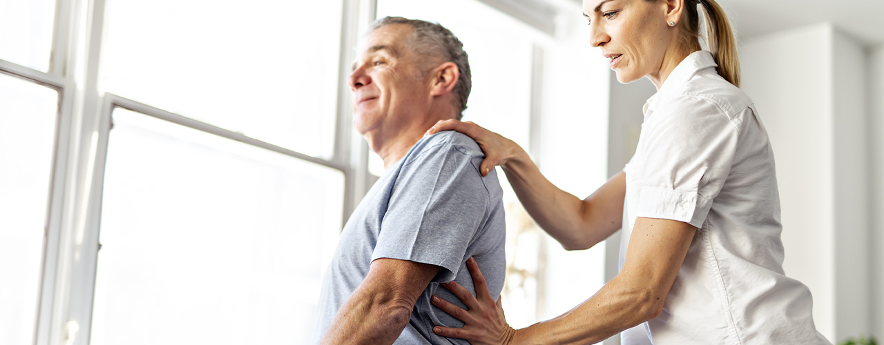improve posture pt